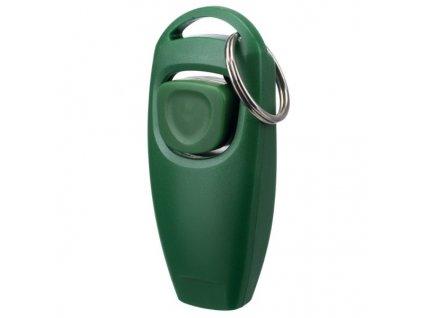 Clicker - píšťalka, zelená