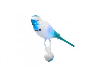 Andulka střední 13,5 cm, modrá
