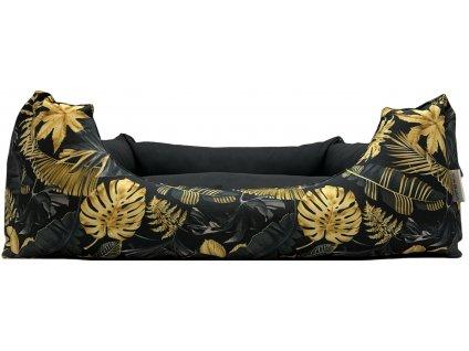 Pelíšek LUX Zlatá džungle - L, 80 cm