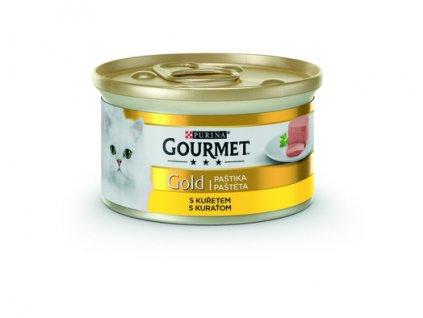 Purina Gourmet Gold kuřecí paštika 85 g | Krmiva u Toma