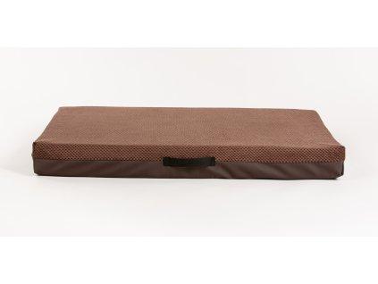 Matrace 2XL, hnědá – 10 cm vysoká, 89 x 62 cm