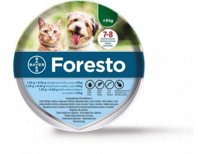 Foresto obojek pro malé psy a kočky 38 cm