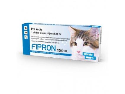 Fipron 50mg Spot-On Cat sol 1x0,5 ml