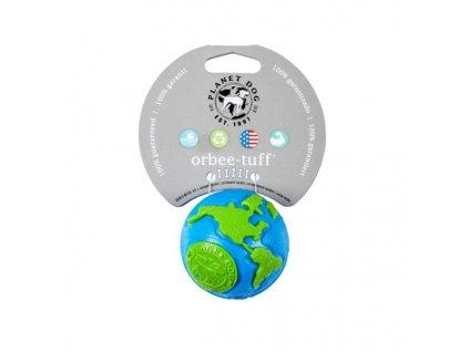 Orbee-Tuff® Ball Zeměkoule modro/zelená S – 5,5 cm