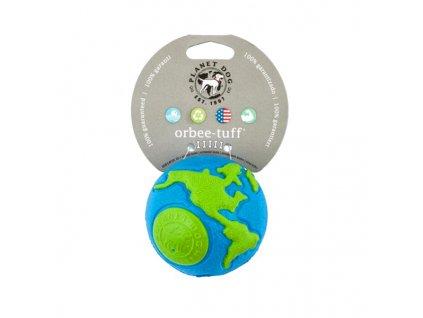 Orbee-Tuff® Ball Zeměkoule modro/zelená M – 7 cm