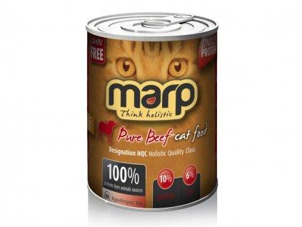 Marp Beef hovězí konzerva pro kočky 400 g   Krmiva u Toma