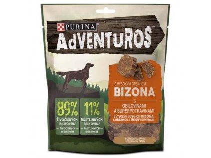 ADVENTUROS S bizonem a brusinkovou šťávou 90 g