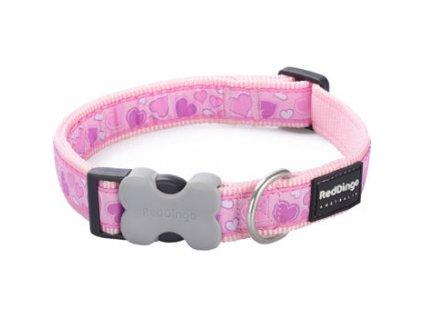 Polostahovací obojek RD Breezy Love Pink (15 mm x 24-37 cm) | Krmiva u Toma