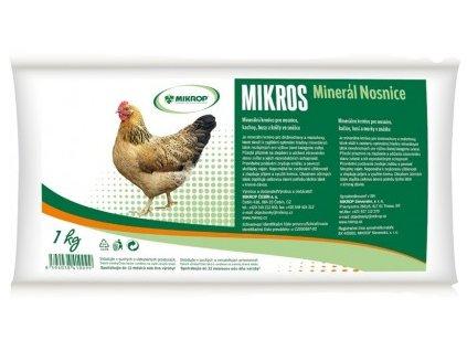 Mikros minerální krmivo pro nosnice 1 kg   Doplněk stravy pro nosnice   Krmiva u Toma