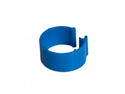 Zasouvací kroužek pro slepice 16 mm, modrý | Krmiva u Toma