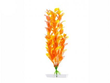 Akvarijní plastová rostlinka – Orange Ludwigia malá   Krmiva u Toma