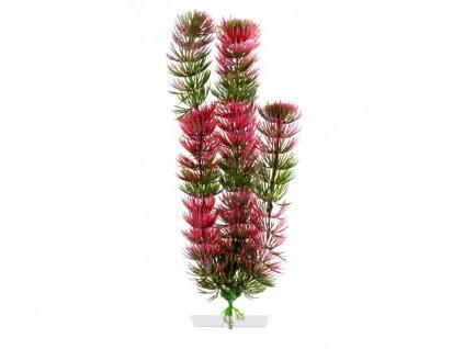 Akvarijní plastová rostlinka – Red Anacharis střední   Krmiva u Toma
