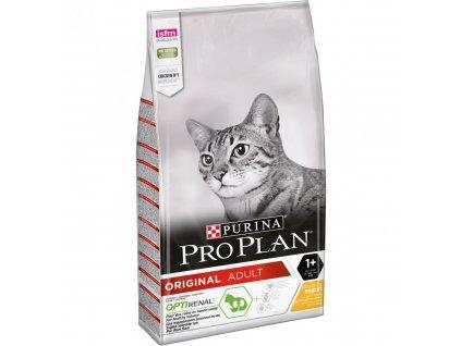 Pro Plan Cat Adult kuře 10 kg   Kuřecí granule pro dospělé kočky   Krmiva u Toma