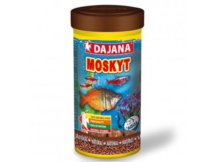 Dajana Moskyt 100 ml   Lyofilizované larvy pakomárů   Krmiva u Toma