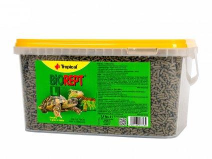 Tropical – Biorept L, suchozemská želva 5 l (1,4 kg)   Krmiva u Toma