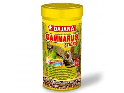 Dajana Gammarus Sticks granulát 250 ml   Krmivo pro vodní želvy   Krmiva u Toma
