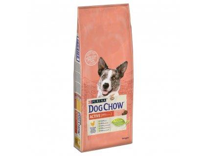 Purina Dog Chow Active kuře 14 kg | Krmiva u Toma