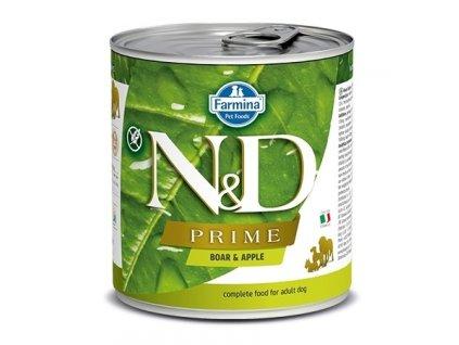 N&D Dog Prime Adult Boar & Apple 285 g