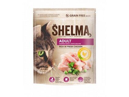 Shelma Cat Adult Freshmeat Chicken GF 750 g   Krmiva u Toma