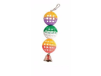 3 koule se zvonečkem 22 cm   Krmiva u Toma