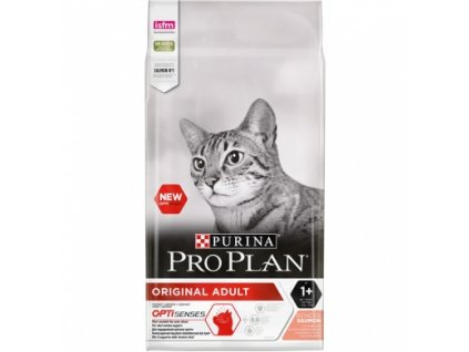 Purina Pro Plan Cat Adult losos 10 kg   Krmiva u Toma