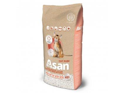 Asan Cat Pure Family 45 l | Ekologická podestýlka pro kočky | Krmiva u Toma