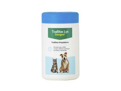Ubrousky hygienické jednorázové pro psy a kočky 120 ks