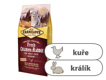 Carnilove Cat Fresh Chicken & Rabbit 6 kg