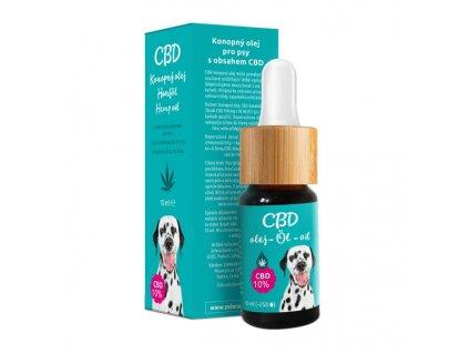 CBDkonopnýolej 10% - veterinární přípravek, 10 ml