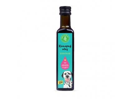 Bio Konopný olej pro zvířata - ČR, 250 ml | Krmiva u Toma