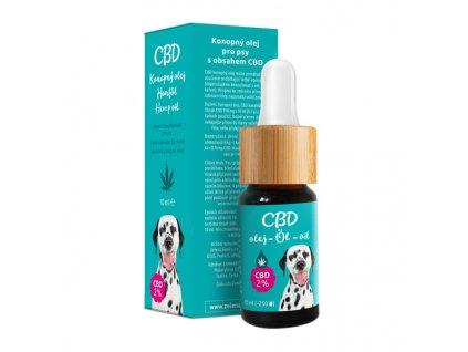 CBDkonopnýolej 2% - veterinární přípravek, 10 ml