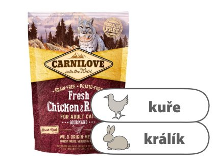 Carnilove Cat Fresh Chicken & Rabbit 400 g