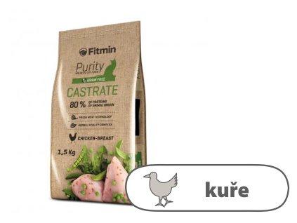 Fitmin Purity Castrate kompletní krmivo pro kočky 1,5 kg