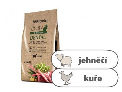 Fitmin Purity Dental kompletní krmivo pro kočky 1,5 kg