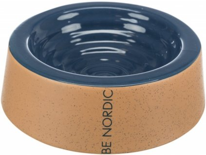 Be Nordic keramická miska 0,2 l (16 cm) - tmavě-modrá/béžová