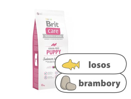 Brit Care Grain-free Puppy Salmon & Potato 12 kg