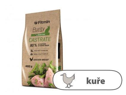 Fitmin Purity Castrate kompletní krmivo pro kočky 400 g