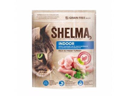 Shelma Cat Indoor Freshmeat Turkey GF 750 g