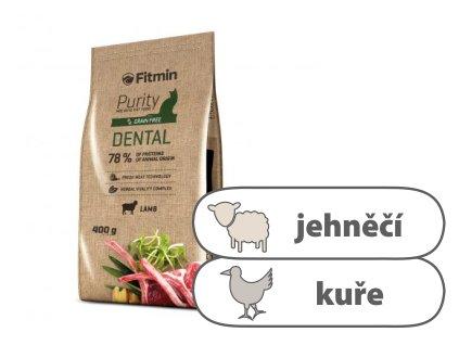 Fitmin Purity Dental kompletní krmivo pro kočky 400 g