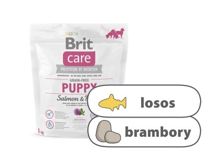 Brit Care Grain-free Puppy Salmon & Potato 1 kg