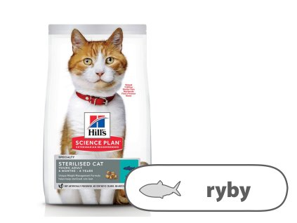 Hill's Fel. Dry SP Adult Young Steril Cat Tuna 3 kg
