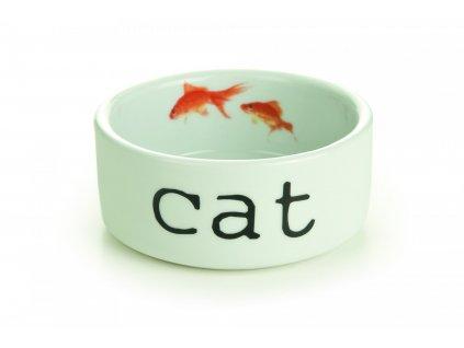 BZ CERAMIC CAT BOWL SNAPSHOT CAT 11 5X4 2502202110065193353
