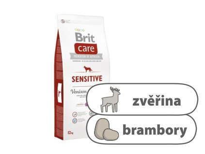 Brit Care Dog Sensitive Venison and Potato 12 kg