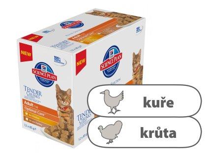 Hill's Fel. kapsa Adult Chicken & Turkey 12 x 85 g