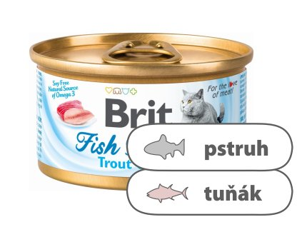 Brit Fish Dreams Trout & Tuna 80 g
