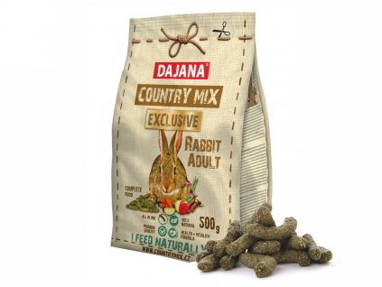 32234 dajana country mix exclusive rabbit 500 g 1