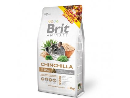 Brit Animals CHINCHILA complete 1,5 kg