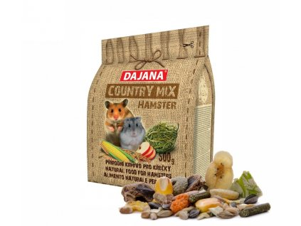32250 dajana country mix hamster krecek 500 g 1