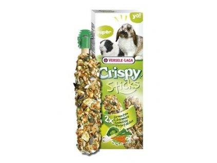 VL Crispy Sticks pro králíky morče Zelenina 110g