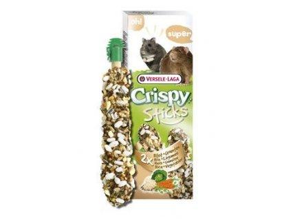 VL Crispy Sticks pro křečky potkan Rýže zelenina 110g